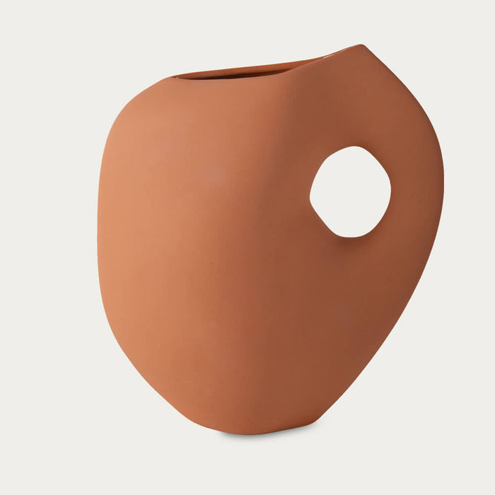 Apricot Aura Vases | Bombinate