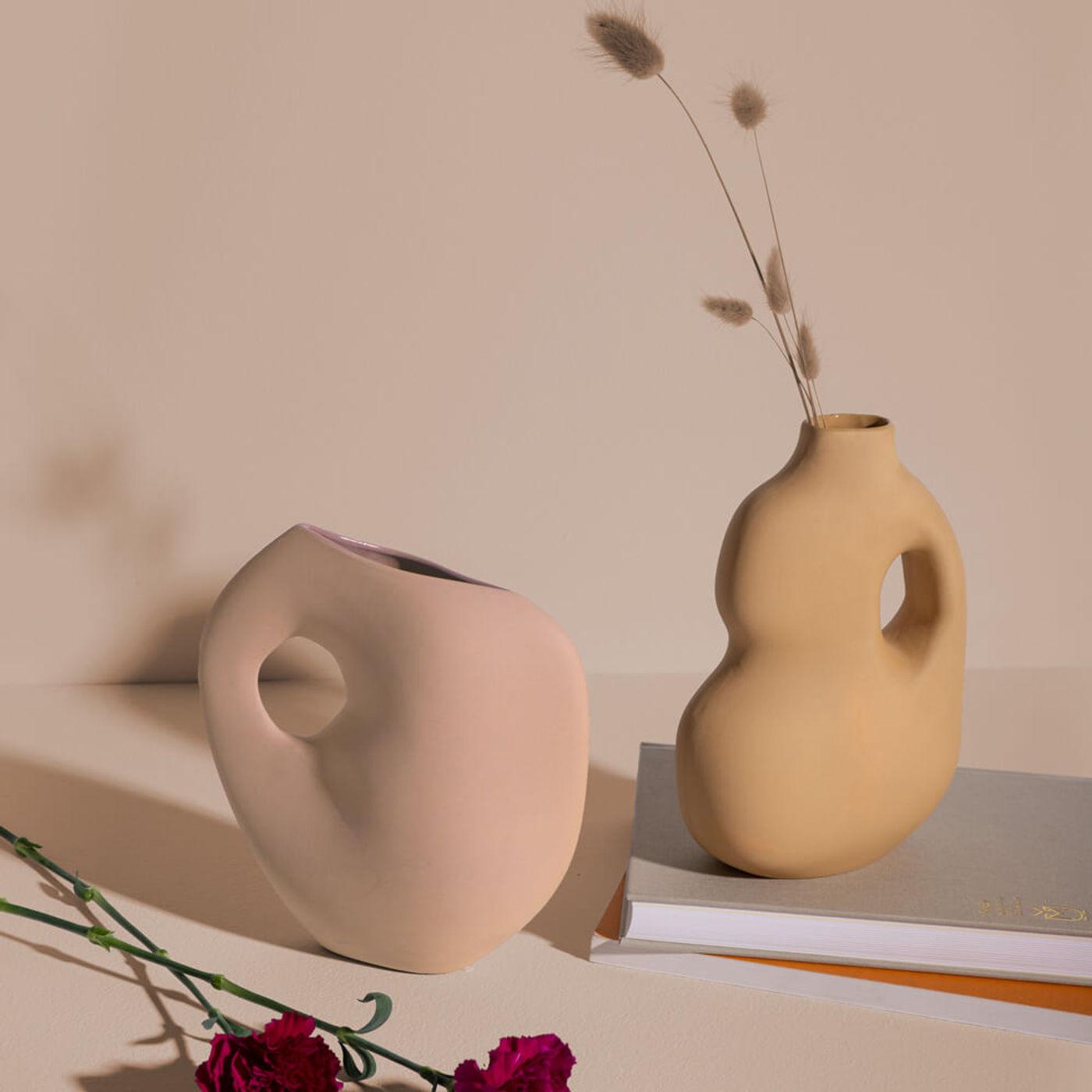 Mustard Aura Vases | Bombinate