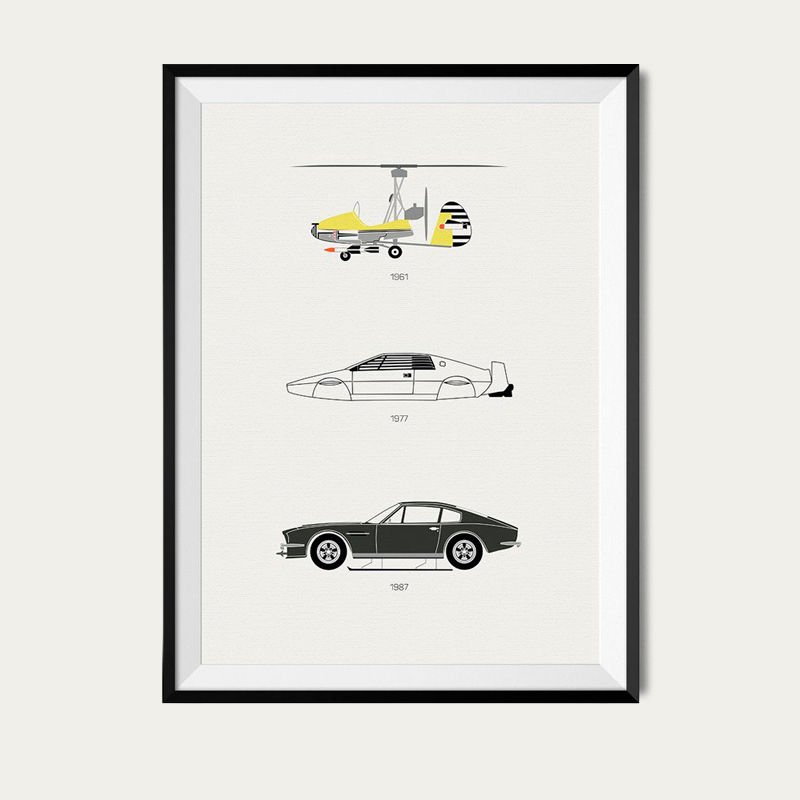 Live and Let Drive – James Bond Poster | Bombinate