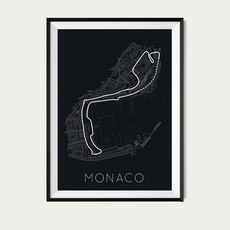The Stage of Real Sport – Circuit De Monaco Poster | Bombinate