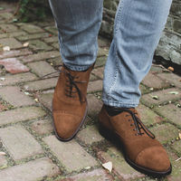 Camel Fulham Suede Oxford | Bombinate