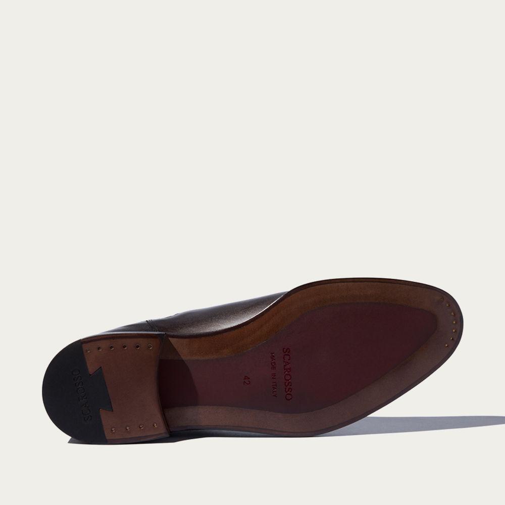 Dark Brown Calf Enzo Ebano Chelsea Boots | Bombinate