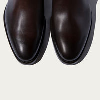 Dark Brown Calf Enzo Ebano Chelsea Boots | Bombinate
