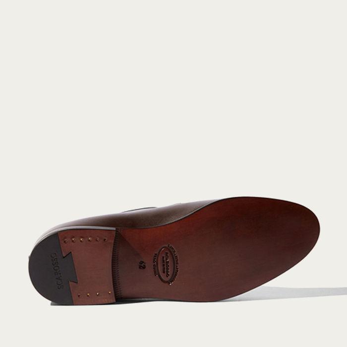 Brown Calf Henri Loafers | Bombinate