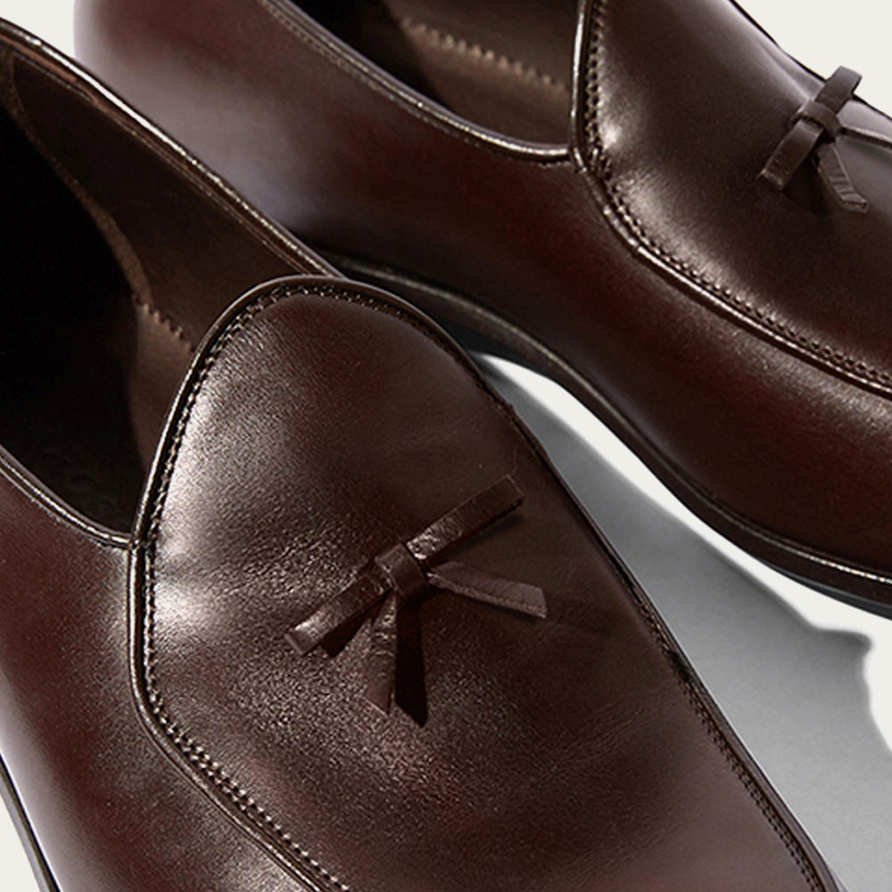 Brown Calf Henri Loafers | Bombinate