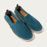 Green Suede Rafael Loafers | Bombinate
