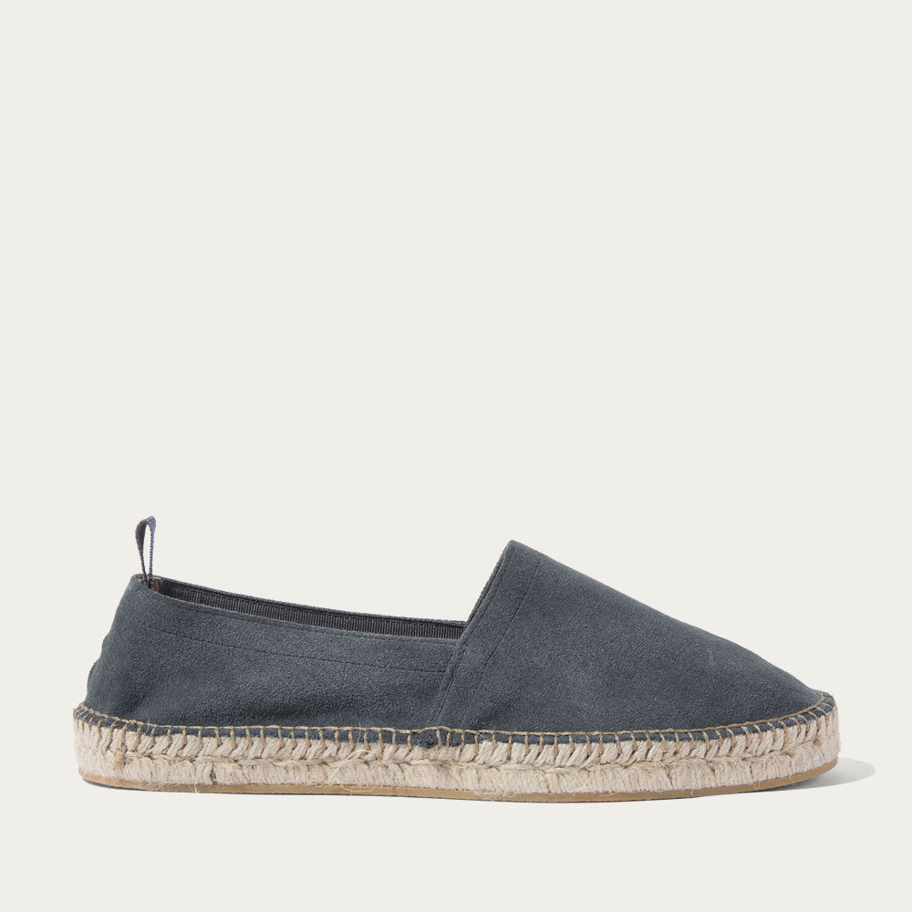 Grey Suede Rafael Loafers | Bombinate