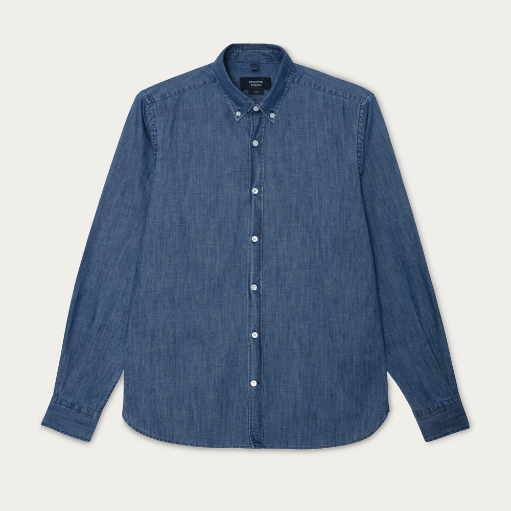 Dark Blue Bd Shirt Denim | Bombinate