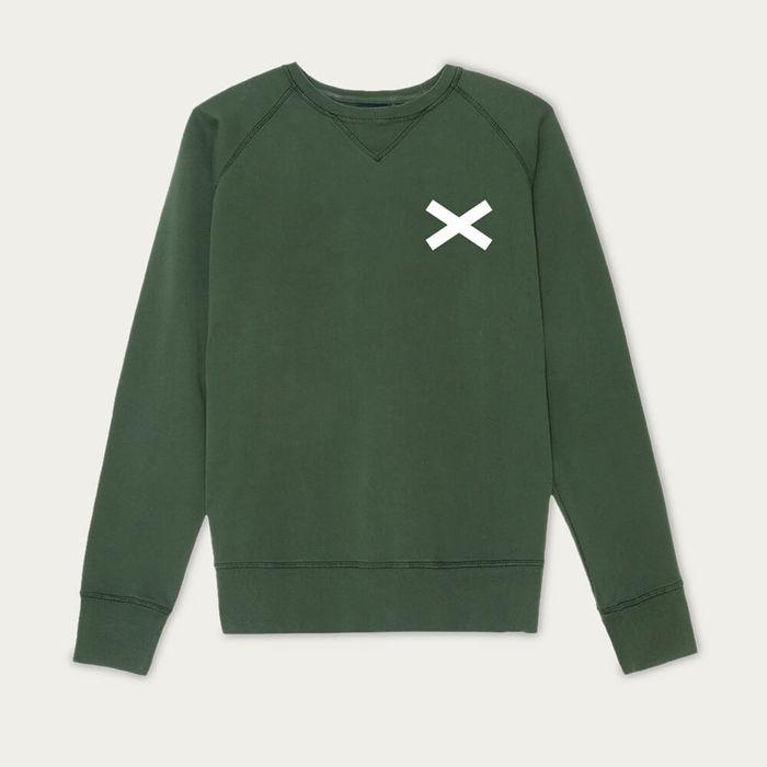 Green Cross Sweatshirt | Bombinate