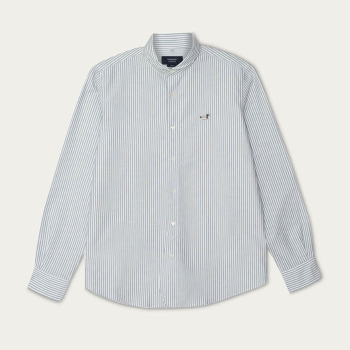 Green Round Collar Shirt Duck | Bombinate