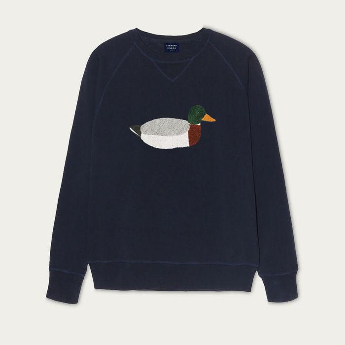 Navy Duck Hunt Sweatshirt | Bombinate