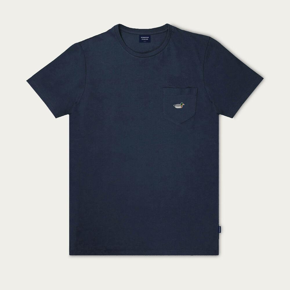 Navy Duck patch T-Shirt | Bombinate