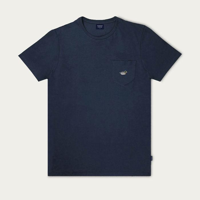 Navy Duck patch T-Shirt   Bombinate