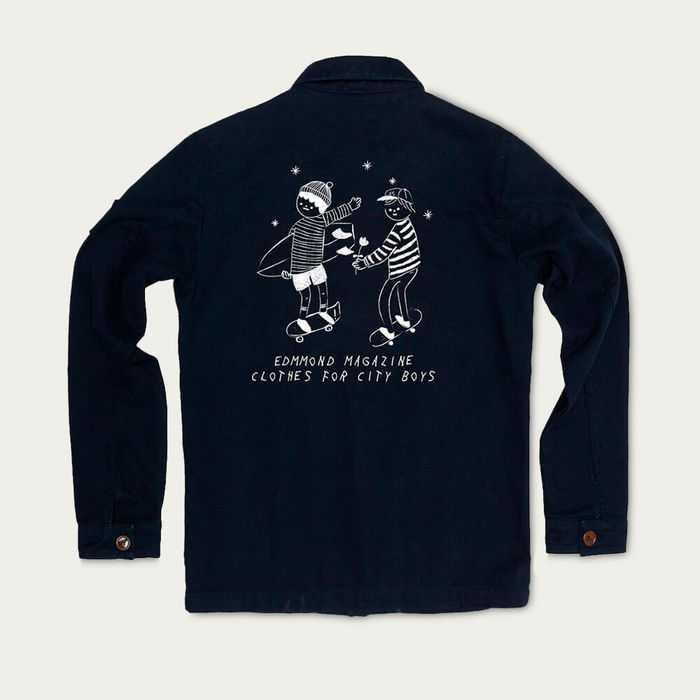 Navy Nagoya jacket | Bombinate