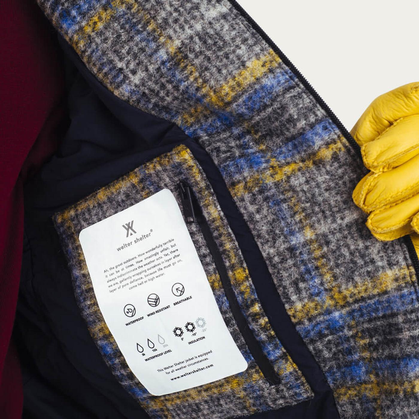 Techwool Check Shirt Jacket  | Bombinate