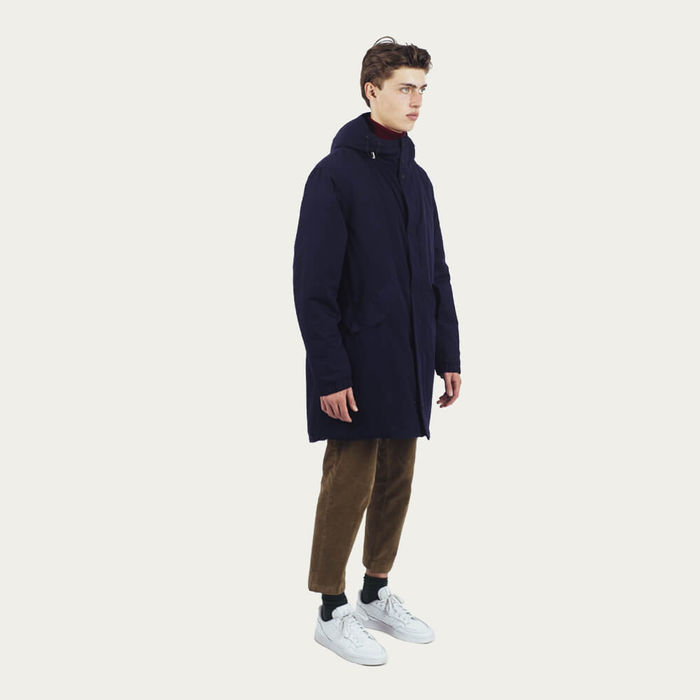 Navy Lizzard Blizzard Parka Berlingo | Bombinate