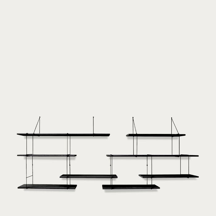 Black / Black LINK Set DUO Shelf   Bombinate