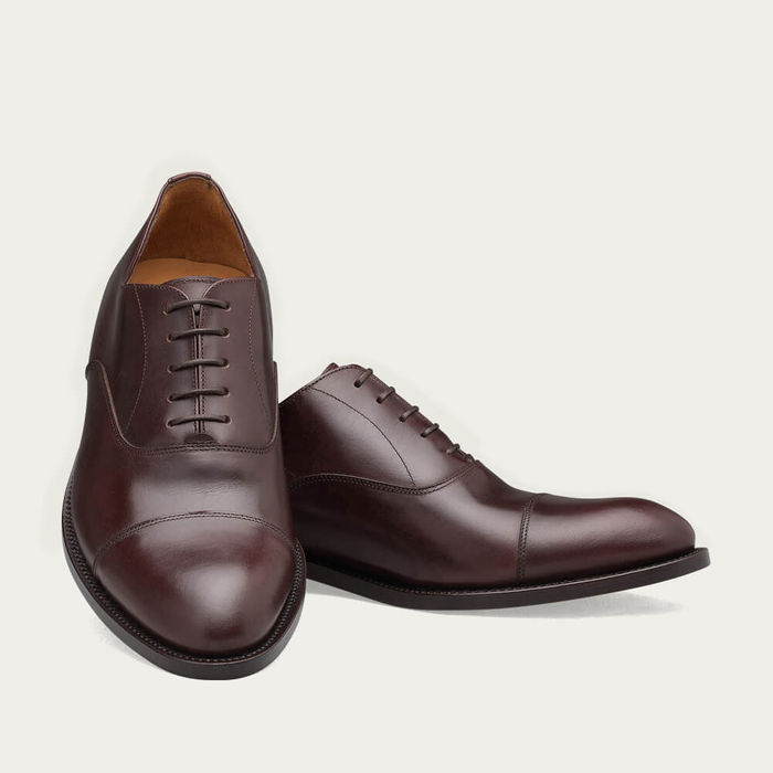 Brown Downtown Leather Shoes | Bombinate
