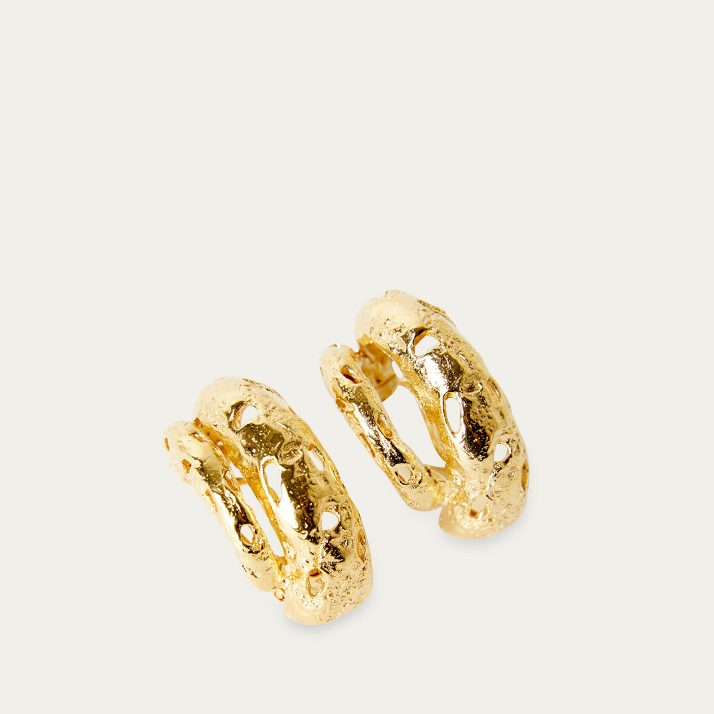 Gold Aida Earrings   Bombinate