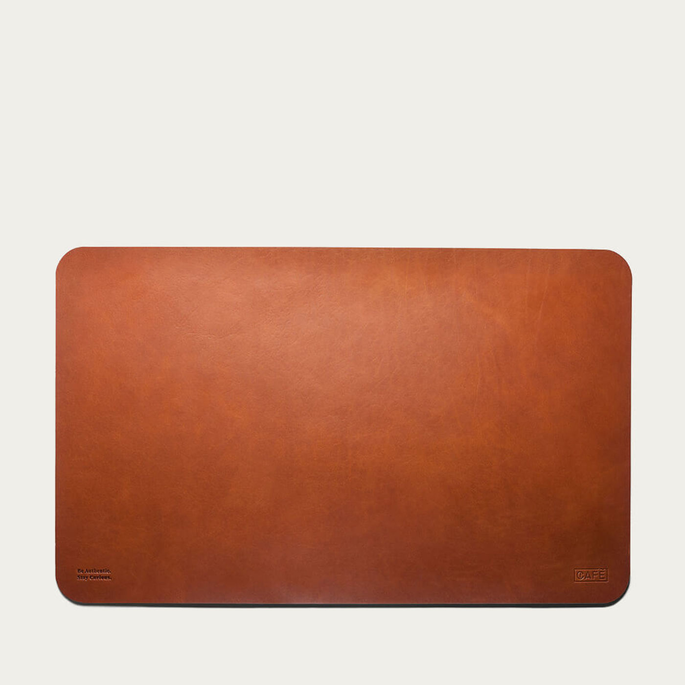 Roasted Leather Desk Pad | Bombinate