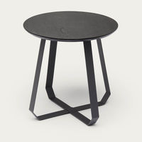 Black Shunan Side Table | Bombinate