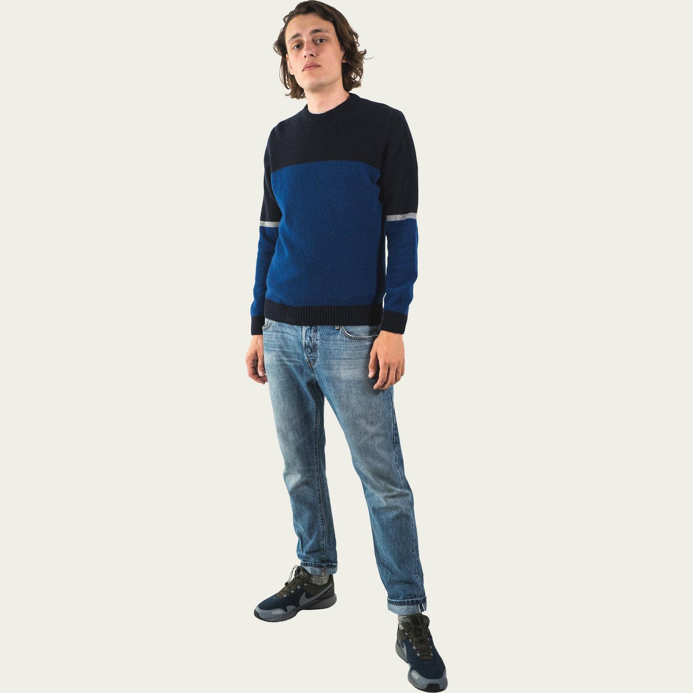 Dark Blue Turner Knitwear  1