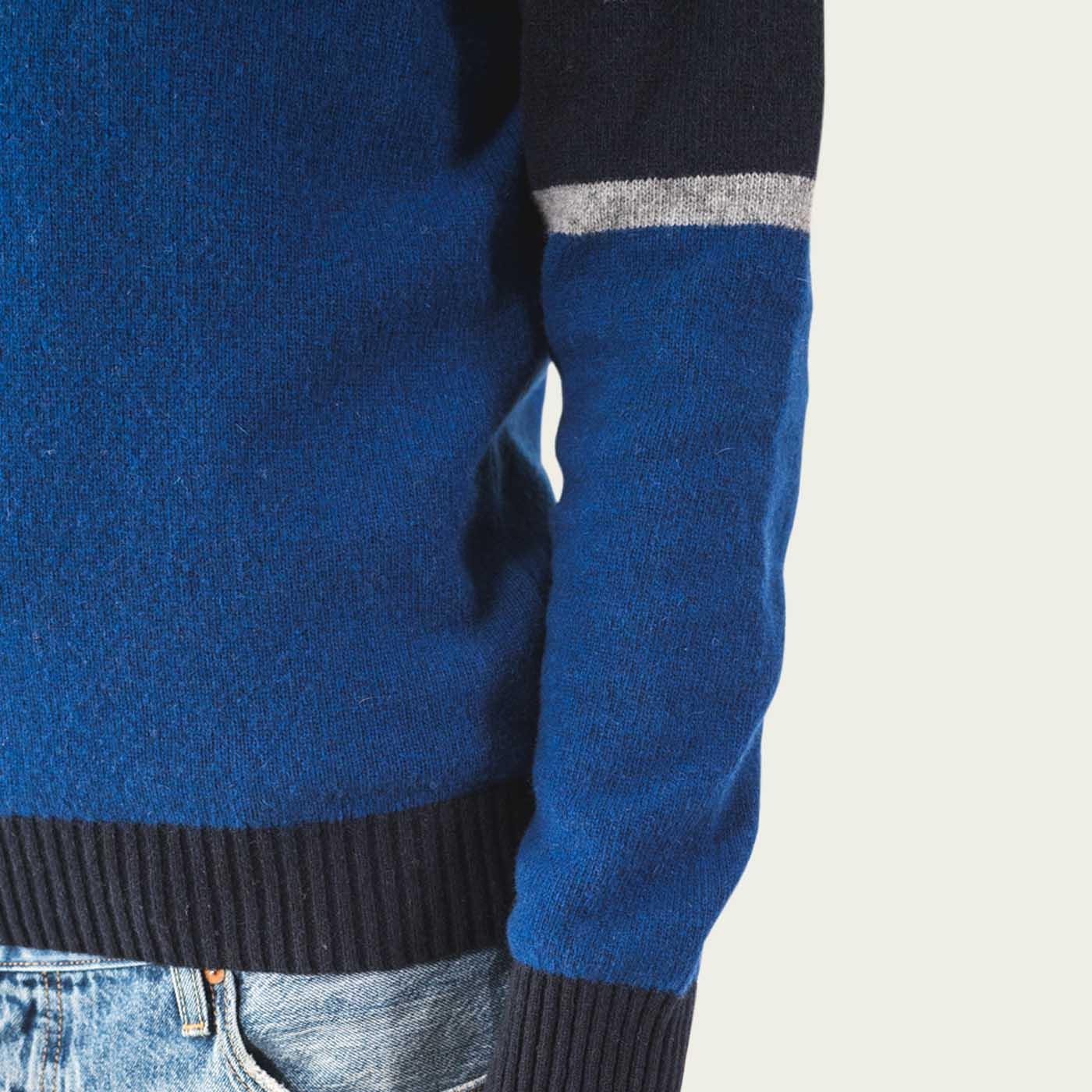 Dark Blue Turner Knitwear  4