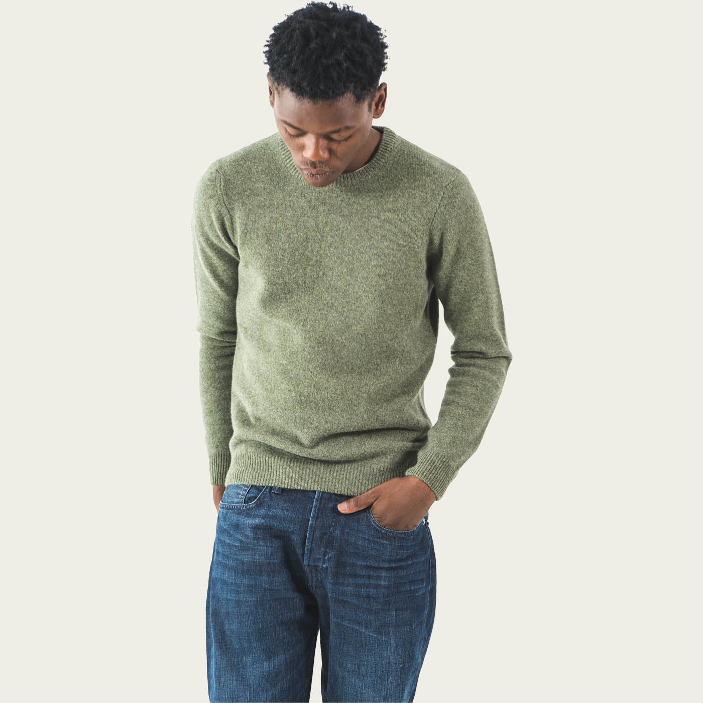 Khaki Murillo Knitwear  | Bombinate