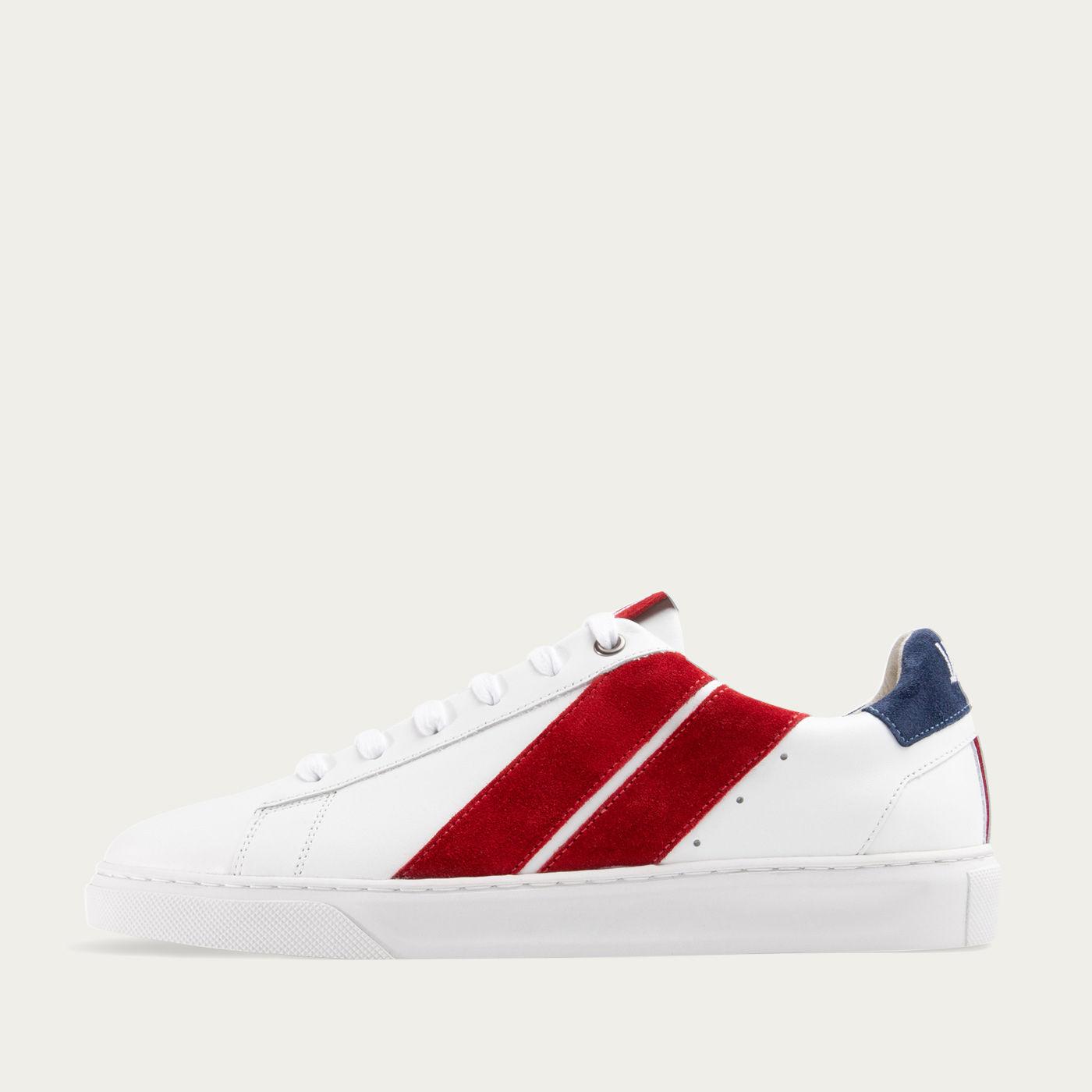 French Flag Slash Sneakers | Bombinate