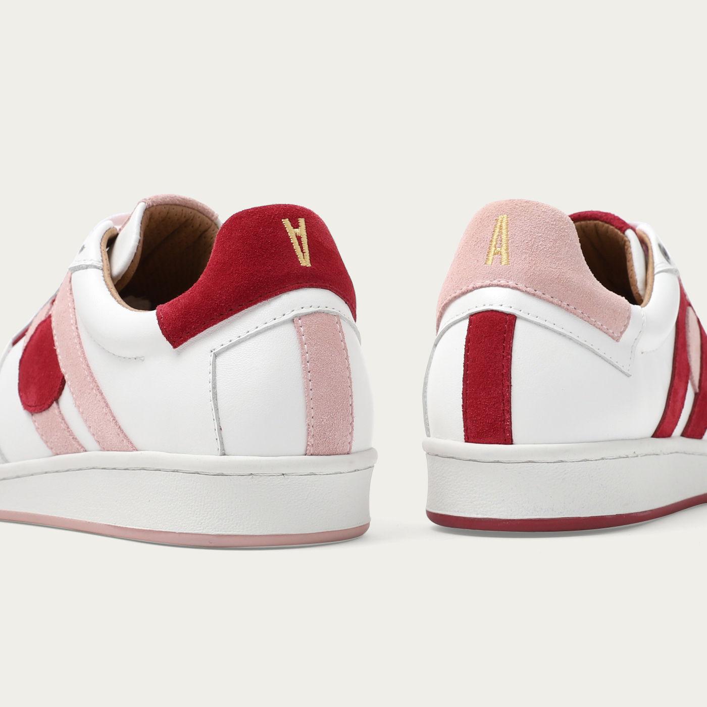 Pink Cherry Moon Sneakers | Bombinate