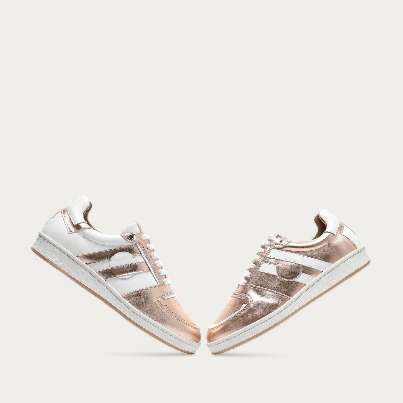 Rose Mirror Moon Sneakers | Bombinate