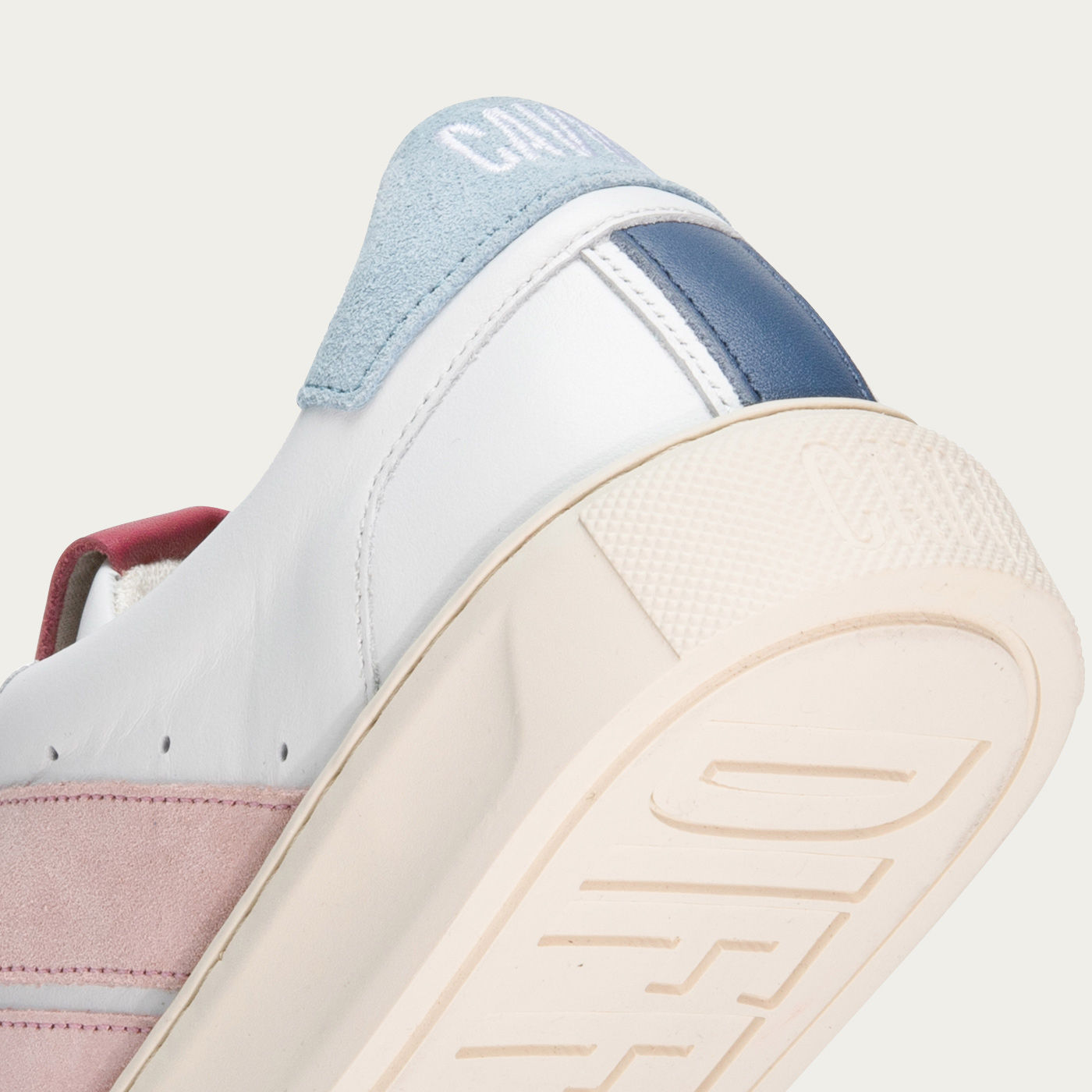 Pastel Pink Slash Sneakers | Bombinate