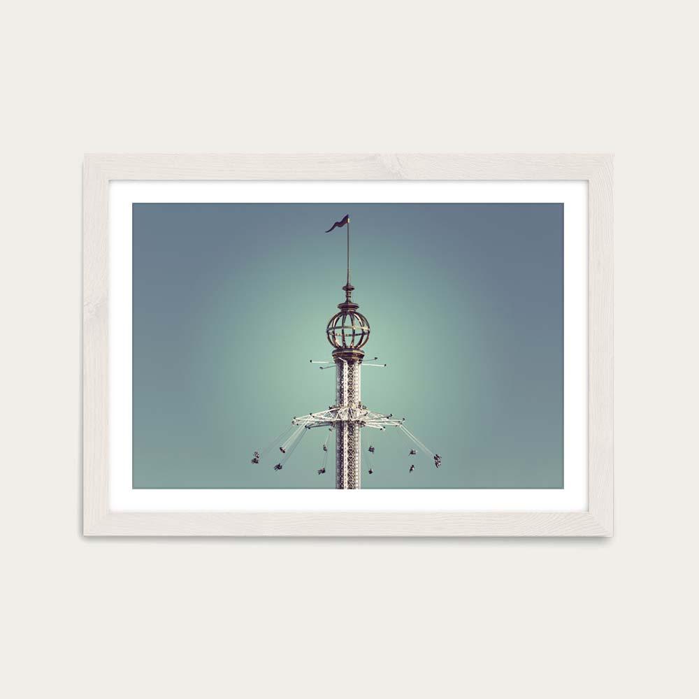 Groena Lund 01 Art Print White Frame | Bombinate