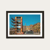 Ottobock 01 Art Print Black Frame | Bombinate