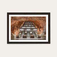 Radhuset Art Print Black Frame | Bombinate