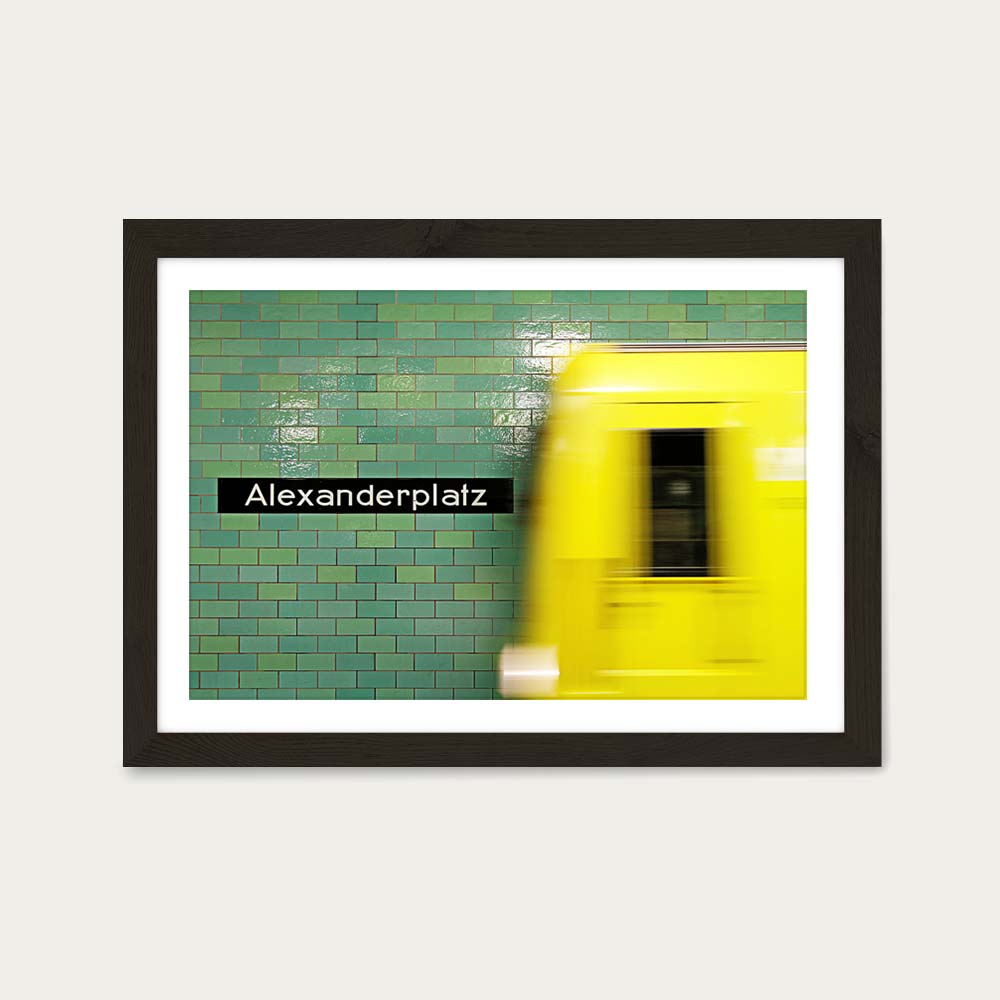 Reaching Alex Art Print Black Frame | Bombinate