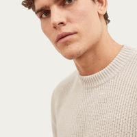 Cream The Perkins Sweater | Bombinate