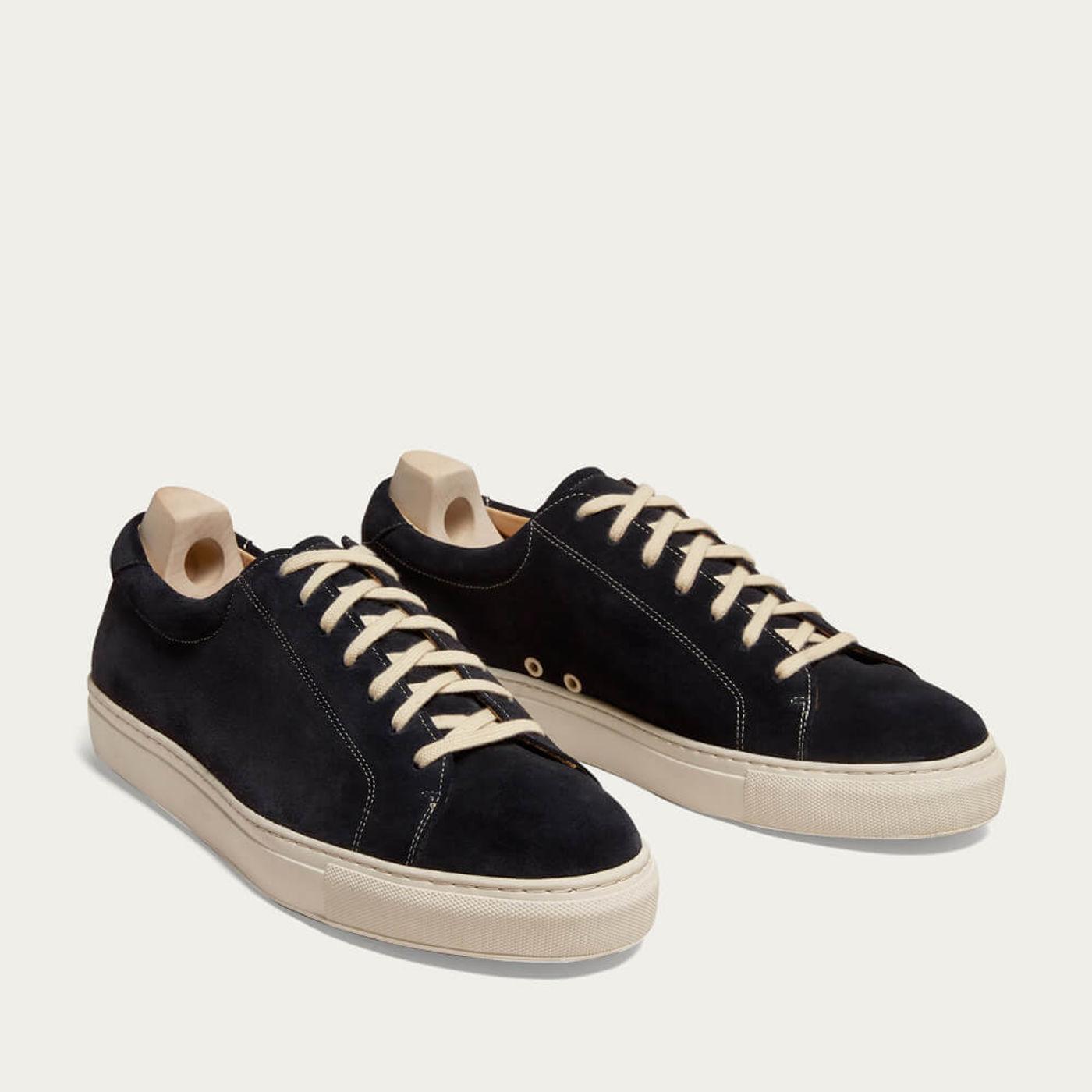 Navy Yxlö Suede Sneakers | Bombinate