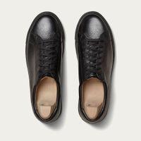 Black Oaxen Country Calf Sneakers   Bombinate