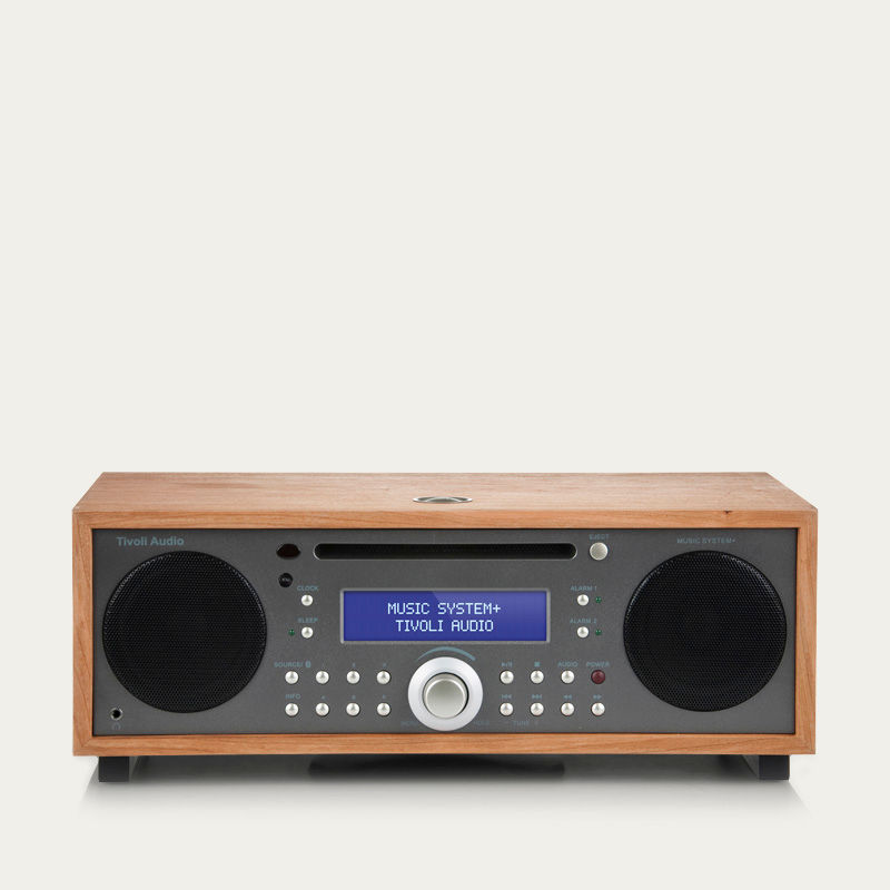 Cherry and Metallic Taupe Music System+  | Bombinate