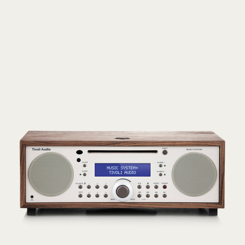 Walnut and Beige Music System+  | Bombinate