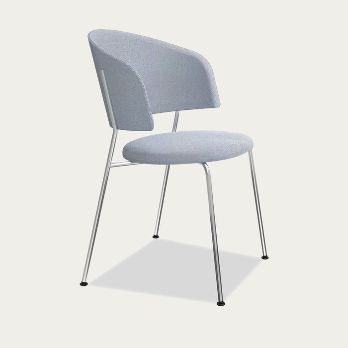 Light Blue Wagner Dining Chair | Bombinate