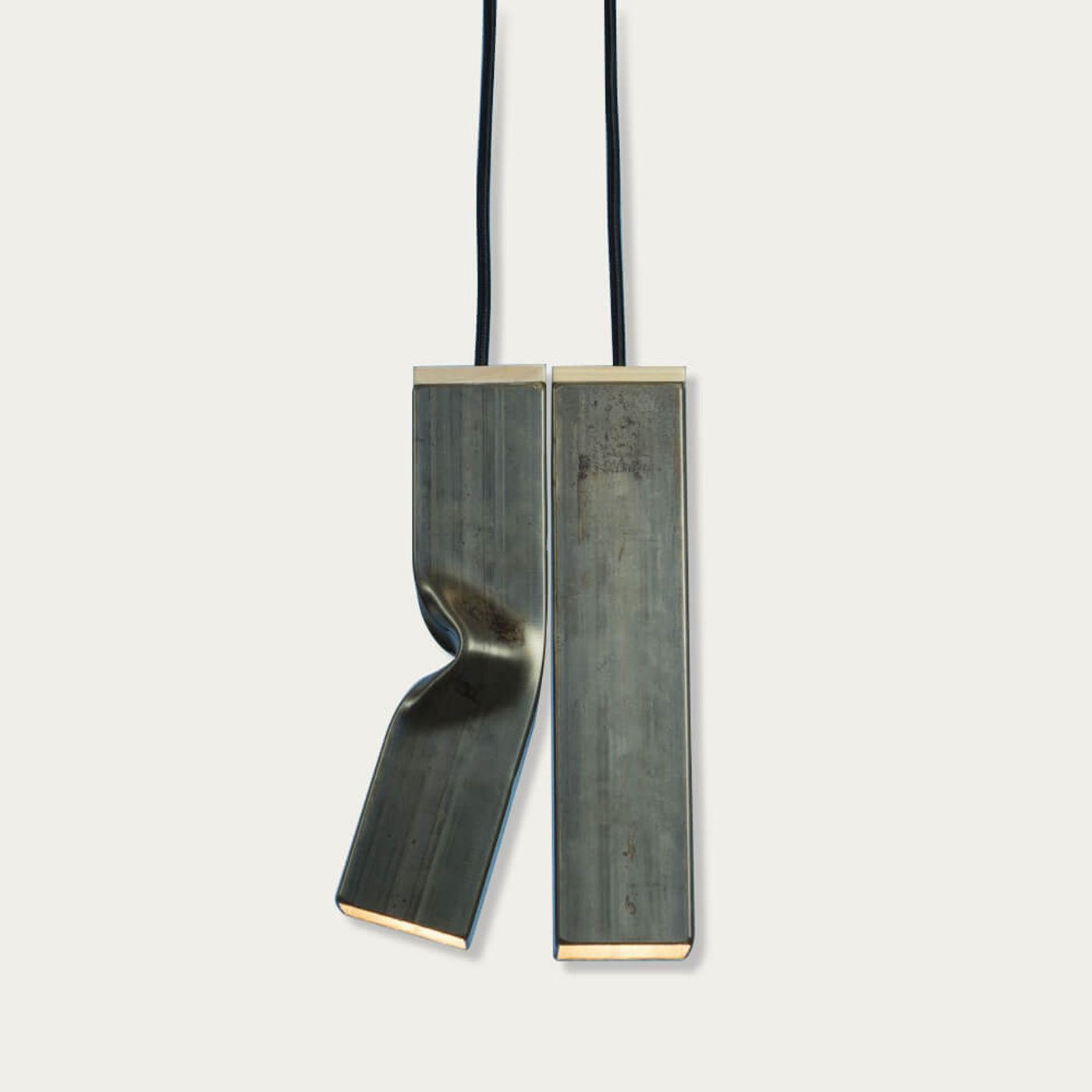 Raw Andy & Bendy Hanging Lamp | Bombinate