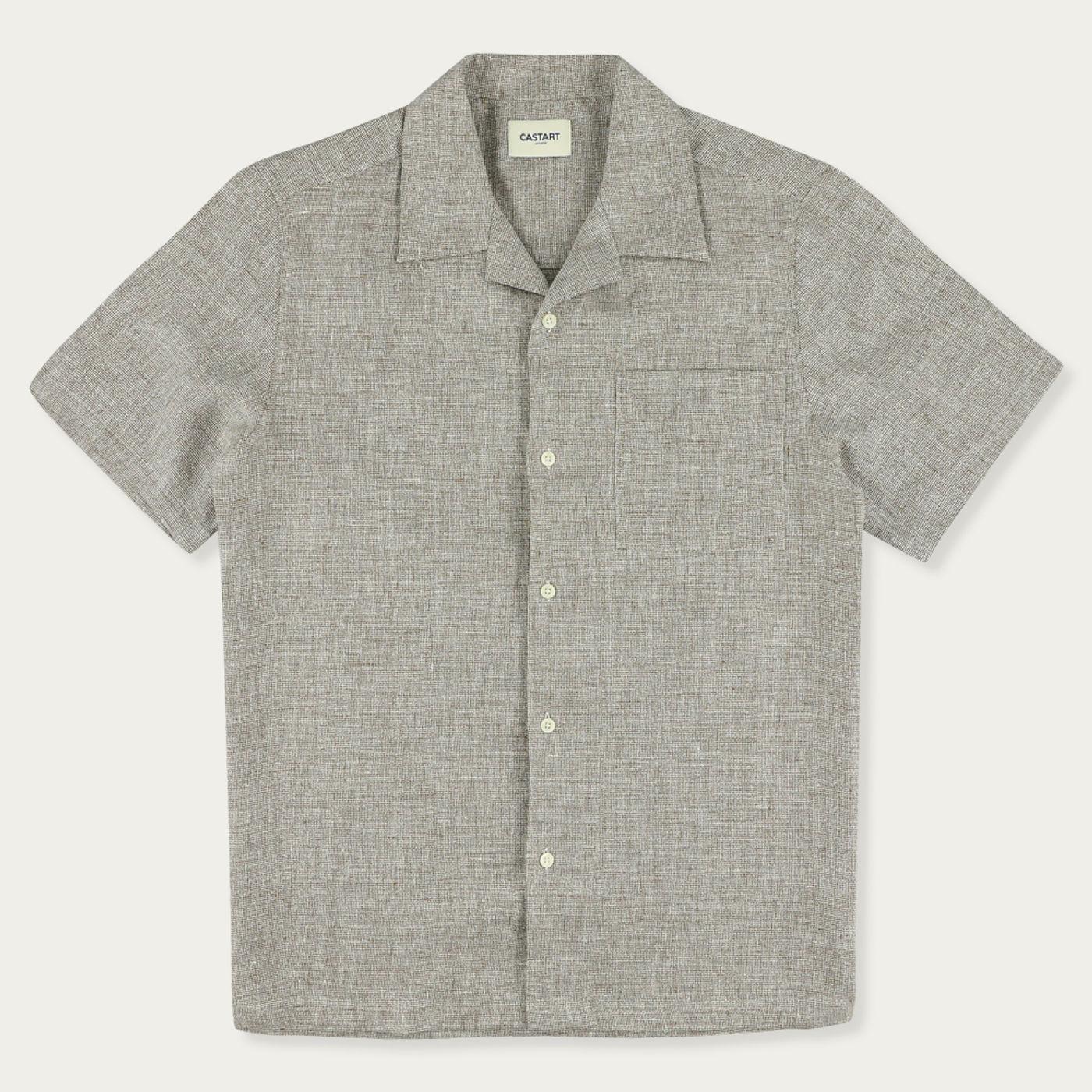 Brown Devilshead Short Sleeve Shirt | Bombinate