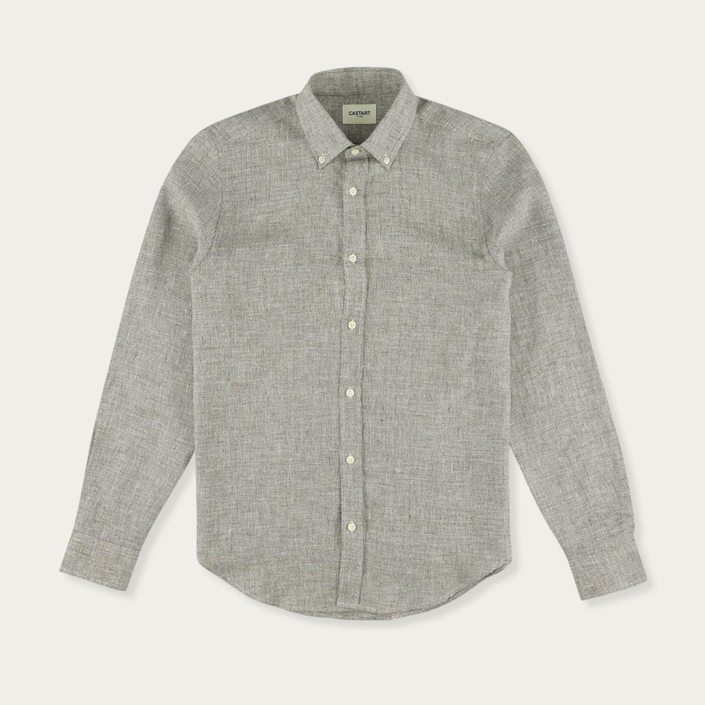 Brown Devilshead Long Sleeve Shirt | Bombinate