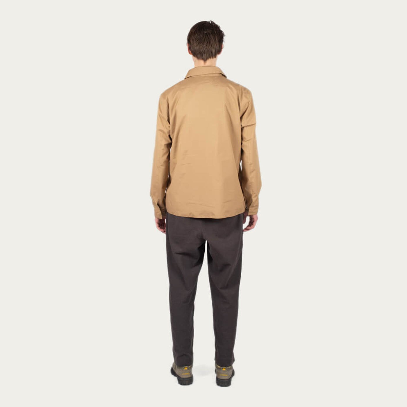 Khaki Shirt Jacket | Bombinate