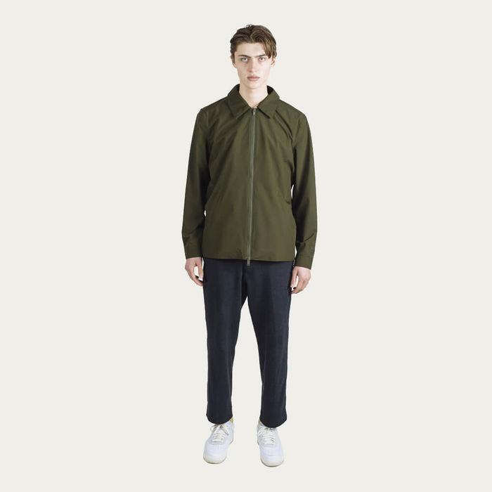 Forest Night Shirt Jacket   Bombinate