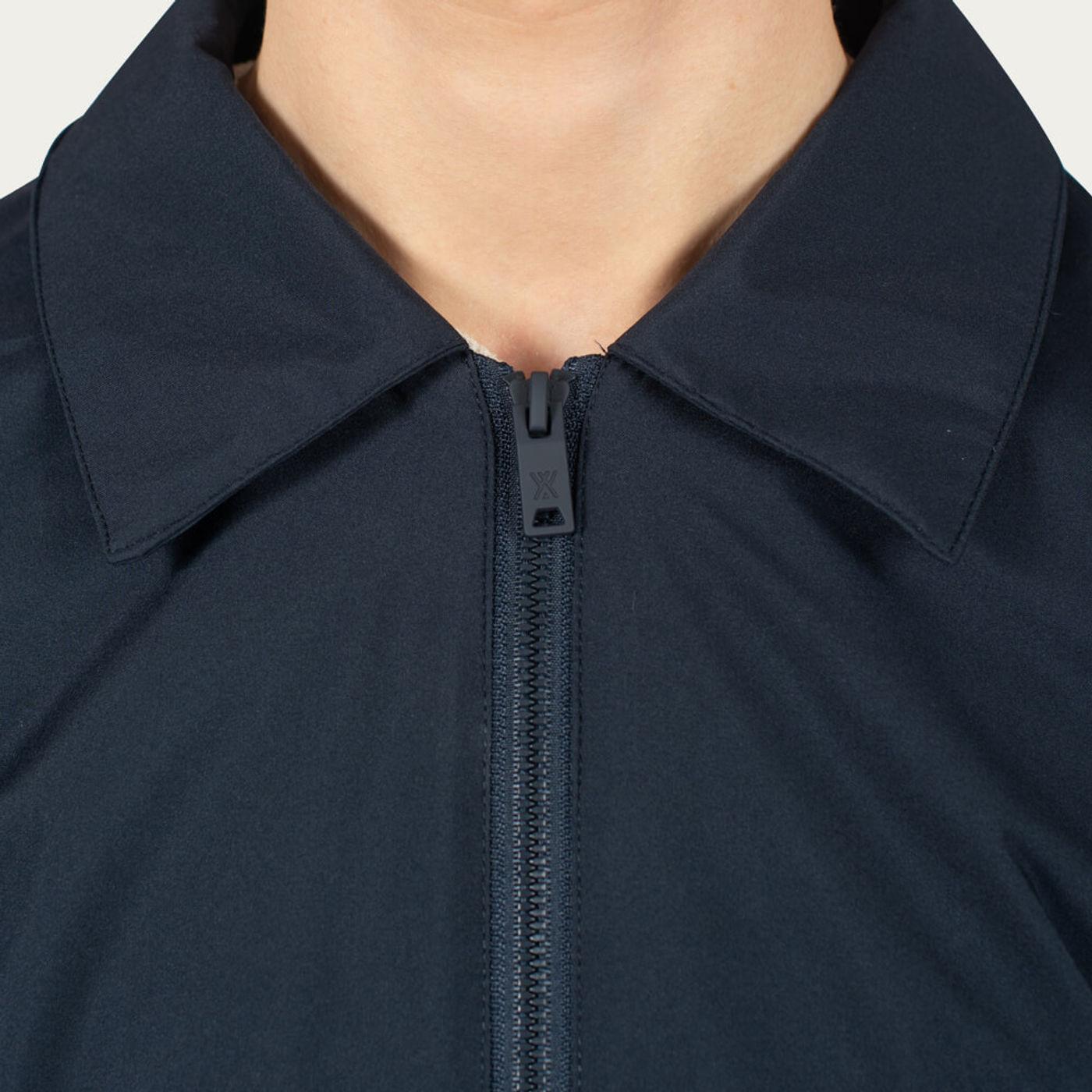 Navy Shirt Jacket   Bombinate