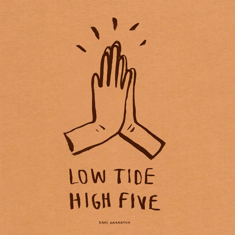 Brown High Five Tee | Bombinate