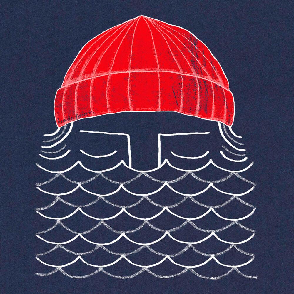 Navy To The Sea Tee | Bombinate